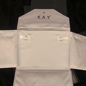3 Kay jewelers travel cases/necklace boxes